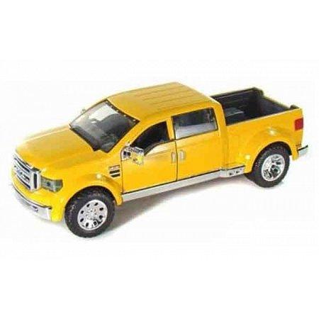 Автомодель (1:31) Ford Mighty F-350 Super Duty жёлтый, Maisto 31213 yellow