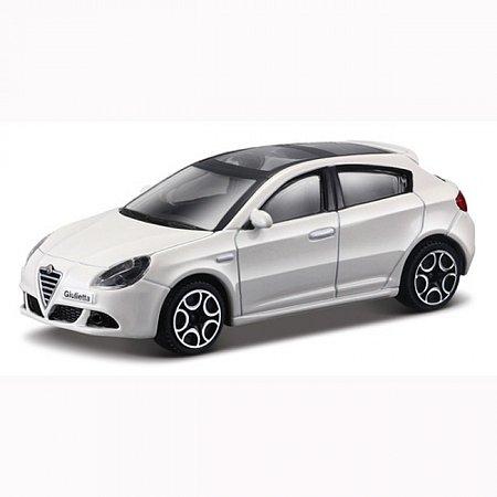 Автомодель Bburago - ALFA ROMEO GIULIETTA (ассорт. белый, красный, 1:32), 18-43030