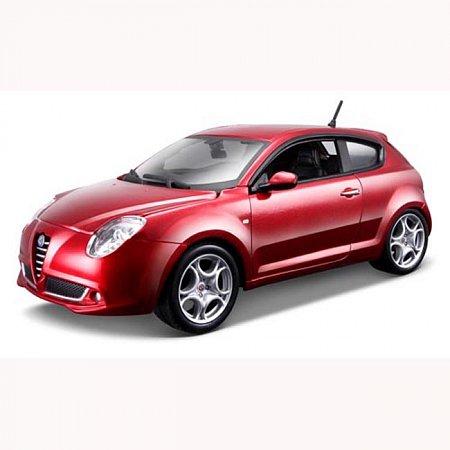 Автомодель Bburago - ALFA ROMEO MITO (ассорт. белый, красный металлик 1:24), 18-21045