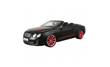 Автомодель Bburago - BENTLEY CONTINENTAL SUPERSPORTS CONVERTIBLE (черный, 1:18), 18-11035N