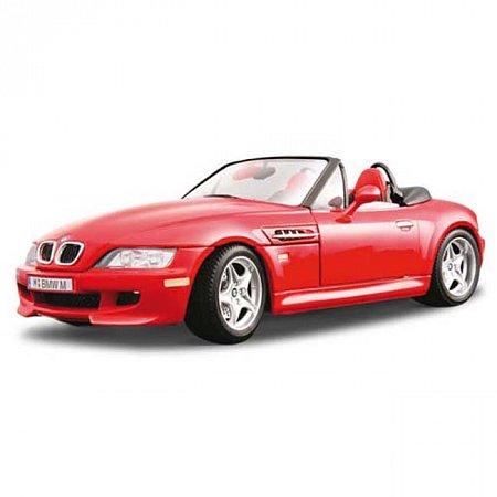 Автомодель Bburago - BMW M ROADSTER (красный, 1:18), 18-12028R