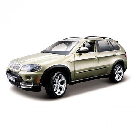 Автомодель Bburago - BMW X5 (коричневый металлик, 1:18), 18-11020BR