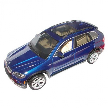 Автомодель Bburago - BMW X5 (синий, 1:18), 18-11020B