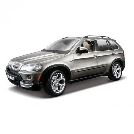 Автомодель Bburago - BMW X5 (темно-серый металлик, 1:18), 18-11020GY