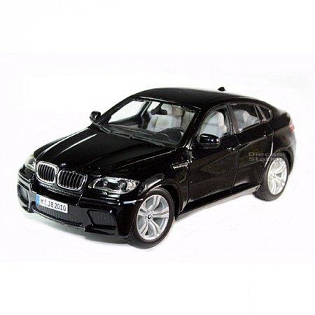 Автомодель Bburago - BMW X6 (черный металлик, 1:18), 18-11032N