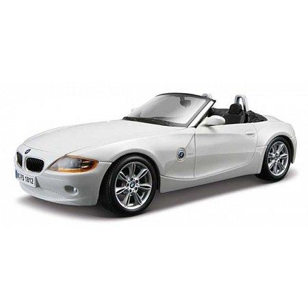 Автомодель Bburago - BMW Z4 (ассорт. белый, серый металлик, 1:24), 18-22002