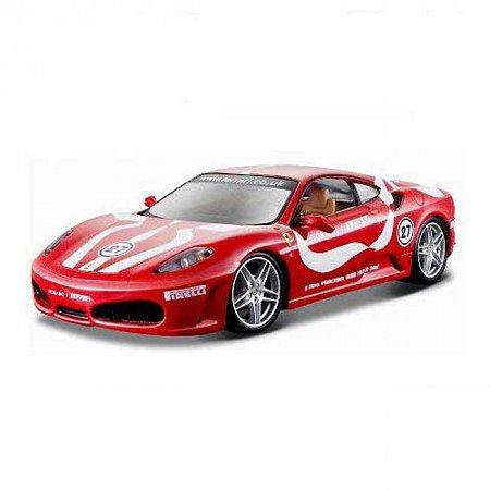 Автомодель Bburago - Ferrari F430 FIORANO (асорті жовтий, червоний, 1:24), Красный (18-26009-2)