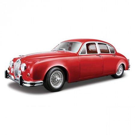 Автомодель Bburago - JAGUAR MARK II (1959) (красный, 1:18), 18-12009R