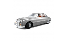 Автомодель Bburago - JAGUAR MARK II (1959) (серебристый, 1:18), 18-12009S