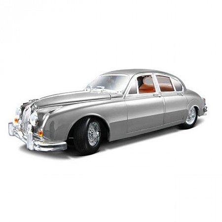 Автомодель Bburago - JAGUAR MARK II (1959) (серебристый, 1:18), 18-12009S
