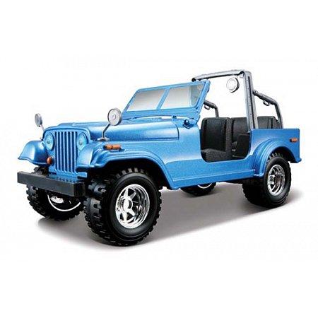 Автомодель Bburago - JEEP WRANGLER (ассорт. красный, синий, 1:24), 18-22033