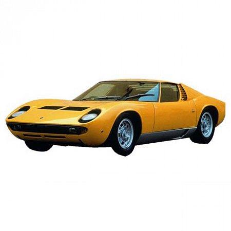 Автомодель Bburago - LAMBORGHINI MIURA (1968) (оранжевый, 1:18), 18-12072O