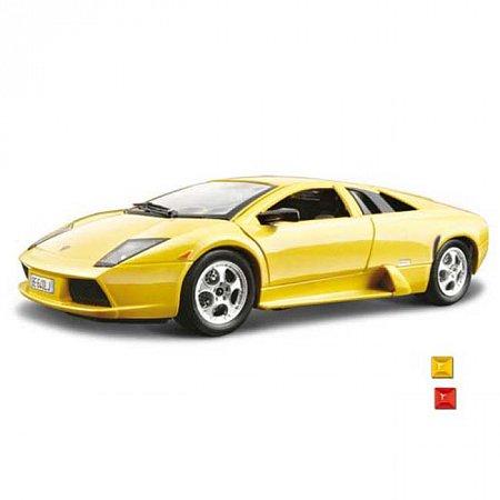 Автомодель Bburago - LAMBORGHINI MURCIELAGO (ассорт. желтый, красный, 1:24), 18-22054