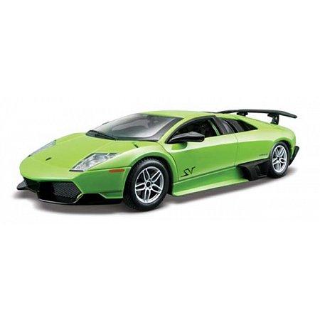 Автомодель Bburago - LAMBORGHINI MURCIELAGO LP670-4 SV ( ассорт. зеленый, желтый металлик 1:24), 18-21050