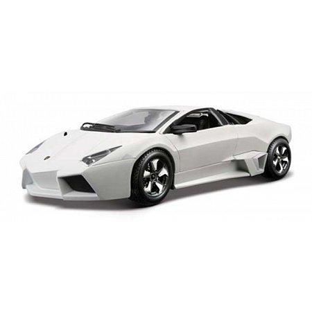 Автомодель Bburago - LAMBORGHINI REVENTON (ассорт. матовый белый, серый металлик 1:24), 18-21041