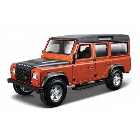 Автомодель Bburago - LAND ROVER DEFENDER 110 (ассорт. белый, оранжевый металлик 1:32), 18-43029