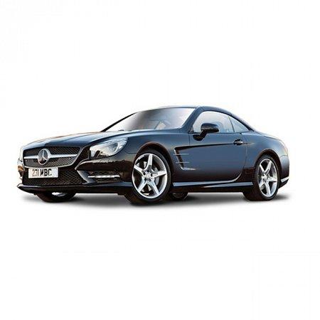Автомодель Bburago - MERCEDES-BENZ SL 500 HARDTOP (ассорт. серый металлик, красный металлик, 1:24), 18-21067