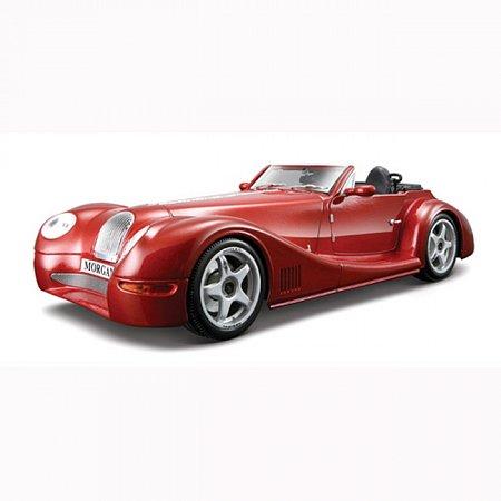 Автомодель Bburago - MORGAN AERO 8 (красный металлик, 1:18), 18-12050R