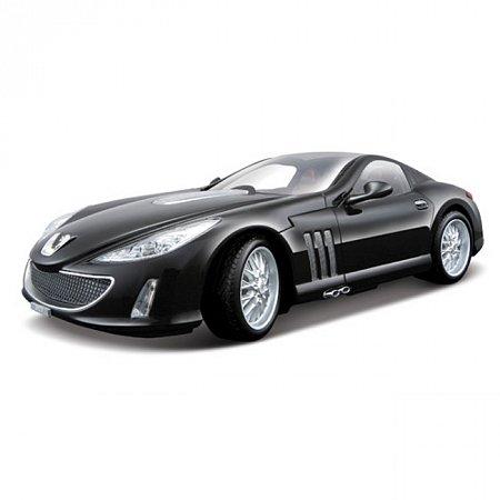 Автомодель Bburago - PEUGEOT 907 V12 (черный металлик, 1:18), 18-12075N