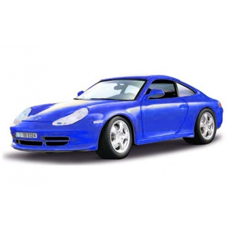Автомодель Bburago - PORSCHE 911 CARRERA 4 (синий, 1:18), 18-12037B