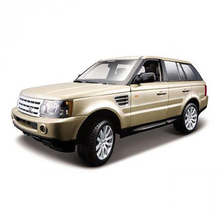 Автомодель Bburago - RANGE ROVER SPORT (золотое шампанское, 1:18), 18-12069Gd