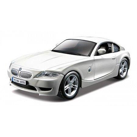Автомодель - BMW Z4 M COUPE (ассорти белый, синий металлик, 1:32), BBURAGO (18-43007)