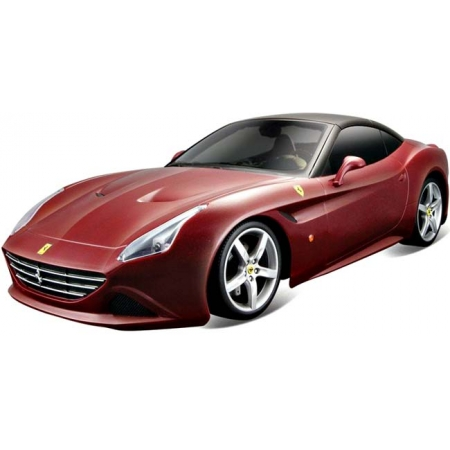 Автомодель - FERRARI CALIFORNIA T (ассорти бордо, серый металлик, 1:24), Bburago (18-26002)