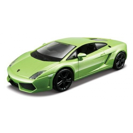 Автомодель - LAMBORGHINI GALLARDO LP560-4 (2008), (ассорти белый, светло-зеленый металлик, 1:32), BBURAGO (18-43020)