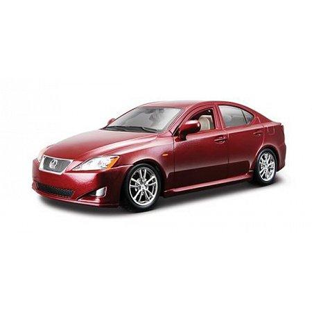 Автомодель - LEXUS IS 350 (асорті чорний, червоний металік, 1:24), BBURAGO (18-22103)