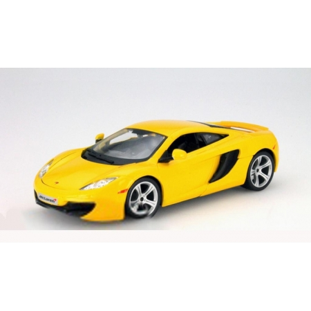Автомодель - MCLAREN MP4-12C, 1:24, желтый, BBURAGO (18-21074-2)