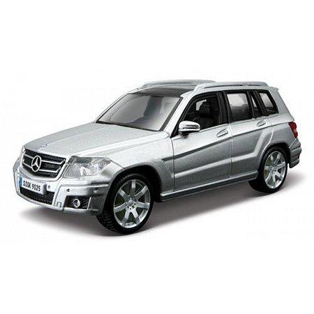 Автомодель - MERCEDES BENZ GLK-CLASS (ассорти красный, серебристый, 1:32), BBURAGO (18-43016)