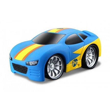 Автомодель на И/К Squeeze & Go SG01 сине-жёлтый, Maisto 81196 blue/yellow