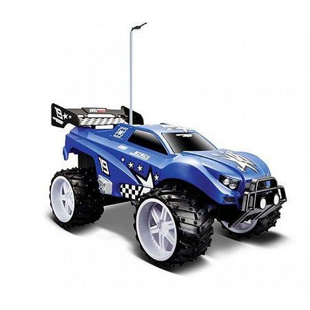 Автомодель на р/у (1:16) Dune Blaster (аккум. 6v + 2хАА), синий, Maisto 81095 blue