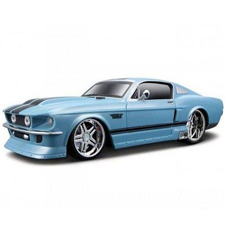 Автомодель на р/у (1:24) 1967 Ford Mustang GT синий, Maisto 81061-A blue