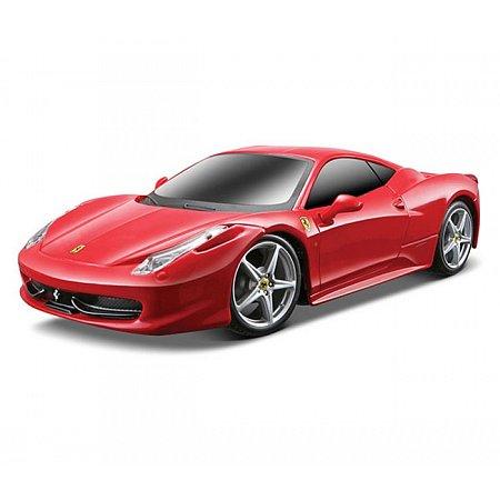Автомодель на р/у (1:24) Ferrari 458 Italia красный, Maisto 81058-A red