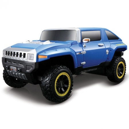 Автомодель на р/у 2008 Hummer HX Concept. Maisto 81053 blue