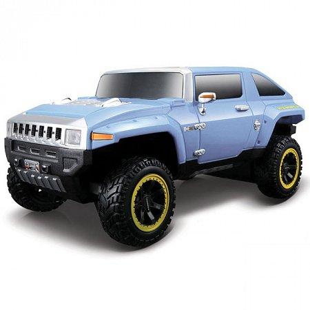 Автомодель на р/у 2008 Hummer HX Concept. Maisto 81053 lt. blue