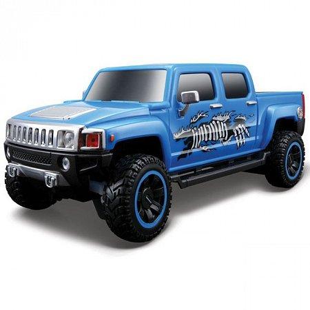 Автомодель на р/у 2009 Hummer H3T Concept. Maisto 81054 blue