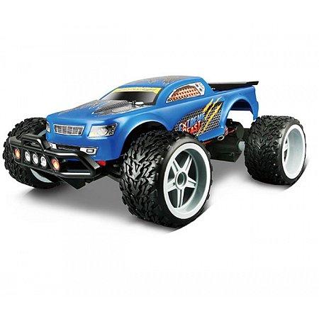 Автомодель на р/у Extreme Beast, 2.4 GHz (аккум. 7.4V Li -ion + 2хАА), синий, Maisto 81128 blue