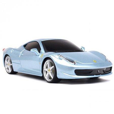 Автомодель на р/у Ferrari 458 Italia (синий металлик), Maisto 81058MB