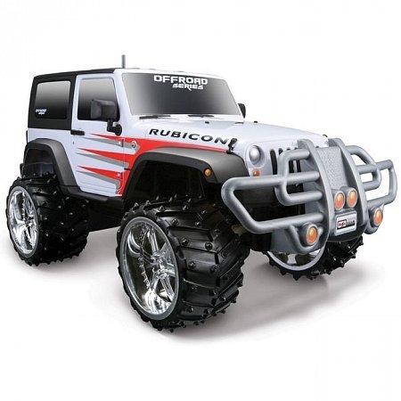 Автомодель на р/у Jeep Wrangler Rubicon, Maisto 81098 white