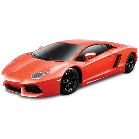 Автомодель на р/у Lamborghini Aventador LP700-4 (оранжевый металлик). Maisto 81057 met. Orange