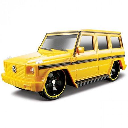 Автомодель на р/у Mercedes-Benz G-Class. Maisto 81051 yellow