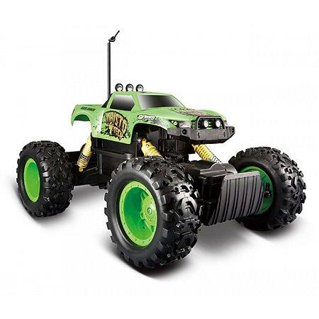 Автомодель на р/у Rock Crawler (аккум. 6v + 2хАА) зелёный, Maisto 81152 green