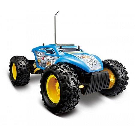 Автомодель на р/у Rock Crawler Extreme (аккум. 6v + 2хАА), синий, Maisto 81156 blue
