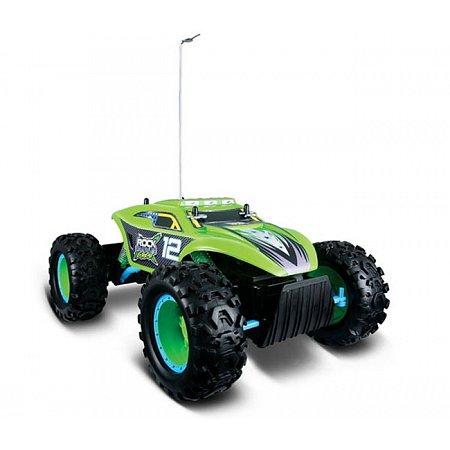 Автомодель на р/у Rock Crawler Extreme (аккум. 6v + 2хАА), зелёный, Maisto 81156 green