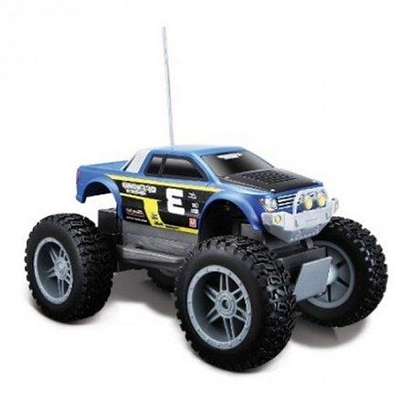 Автомодель на р/у Rock Crawler Jr, синий, Maisto 81162 blue