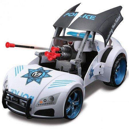 Автомодель-трансформер на р/у Street Troopers Project 66, белый, Maisto 81107 white