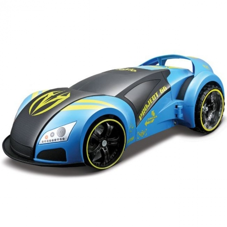 Автомодель-трансформер на р/у Street Troopers Project 66, голубой, Maisto 81107 lt. blue