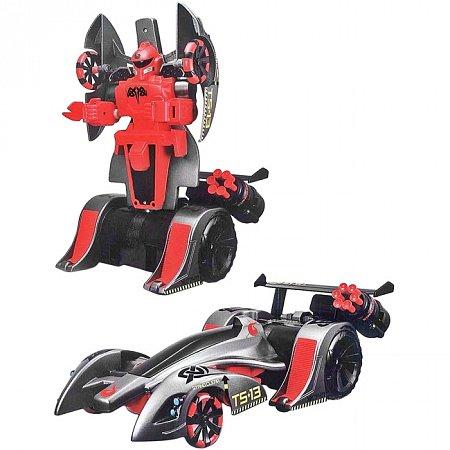 Автомодель - трансформер на р/у Twist and Shoot серо-красный, Maisto 81177 grey/red